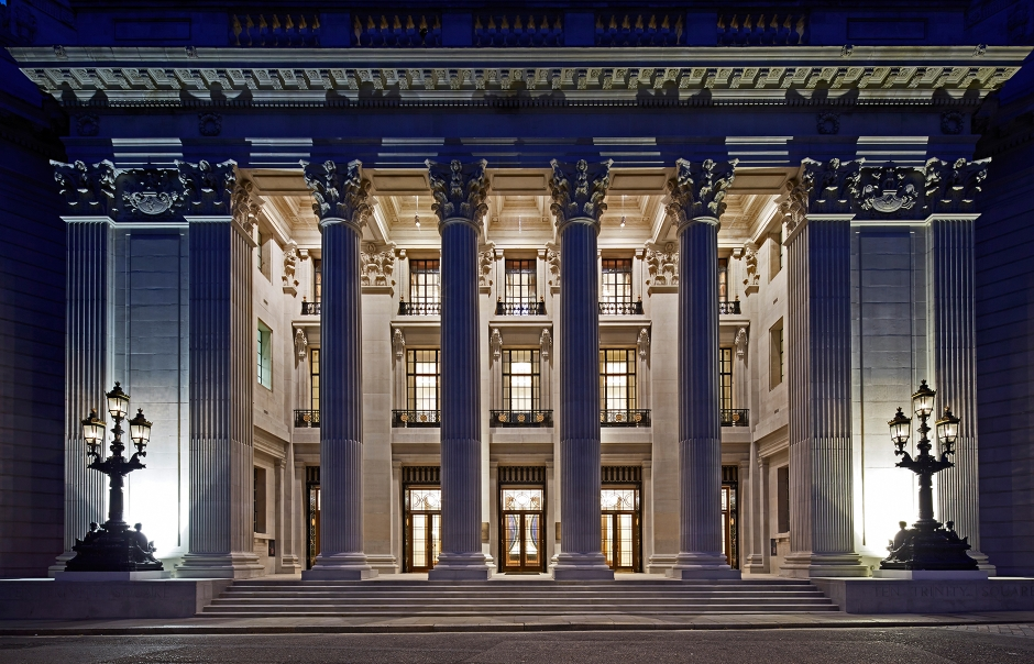 Four Seasons Hotel at Ten Trinity Square, London, UK. TravelPlusStyle.com