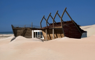 Shipwreck Lodge, Namibia. TravelPlusStyle.com
