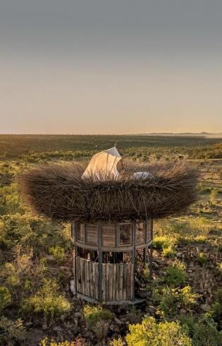 Segera Retreat, Kenya- The NAY PALAD Bird Nest. TravelPlusStyle.com