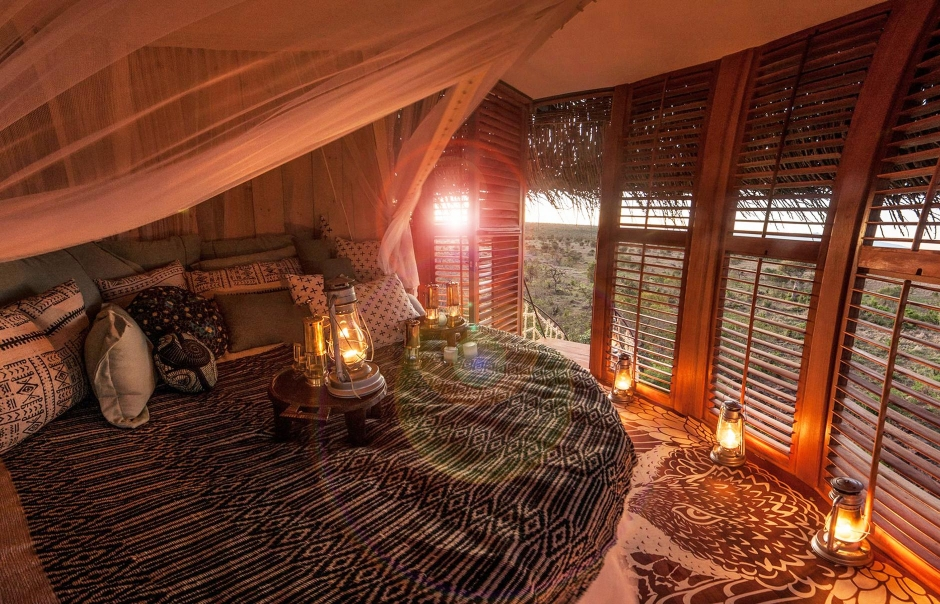 Segera Retreat, Kenya- The NAY PALAD Bird Nest. TravelPlusStyle.com