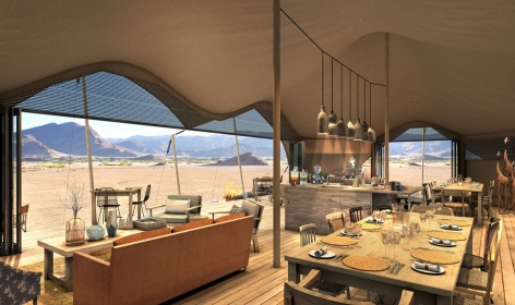 Hoanib Valley Camp, Namibia. TravelPlusStyle.com