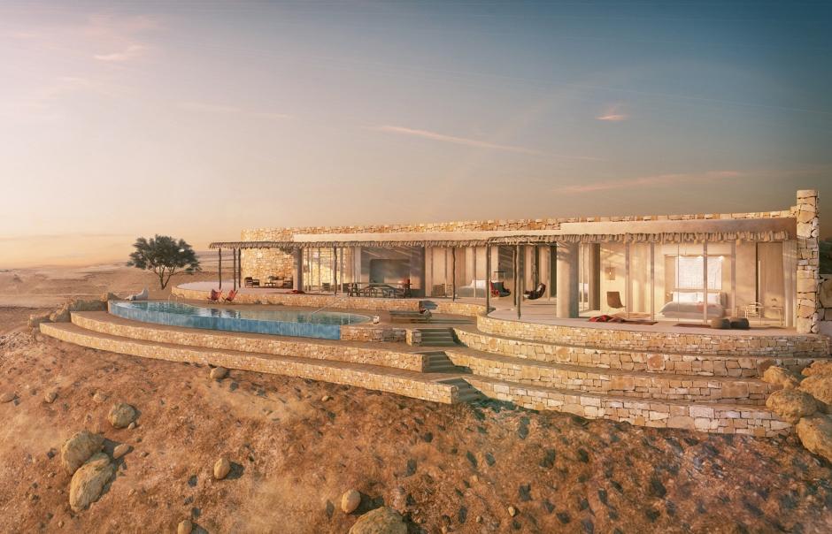 Six Senses Shaharut, Israel. TravelPlusStyle.com