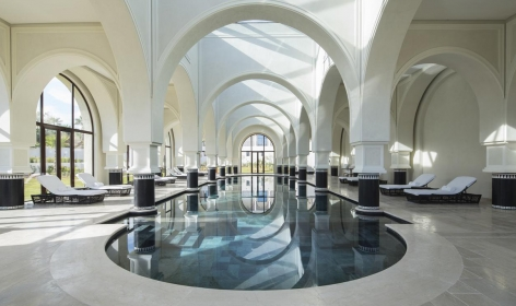 Four Seasons Hotel Tunis, Tunisia. TravelPlusStyle.com