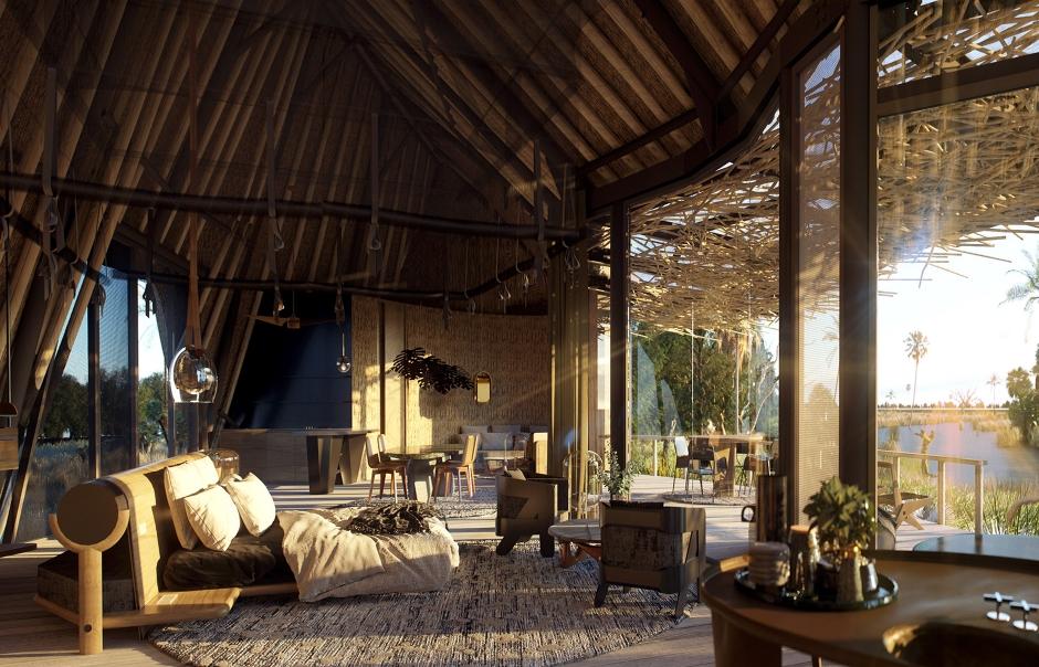 Jao Camp, Okavango Delta, Botswana.