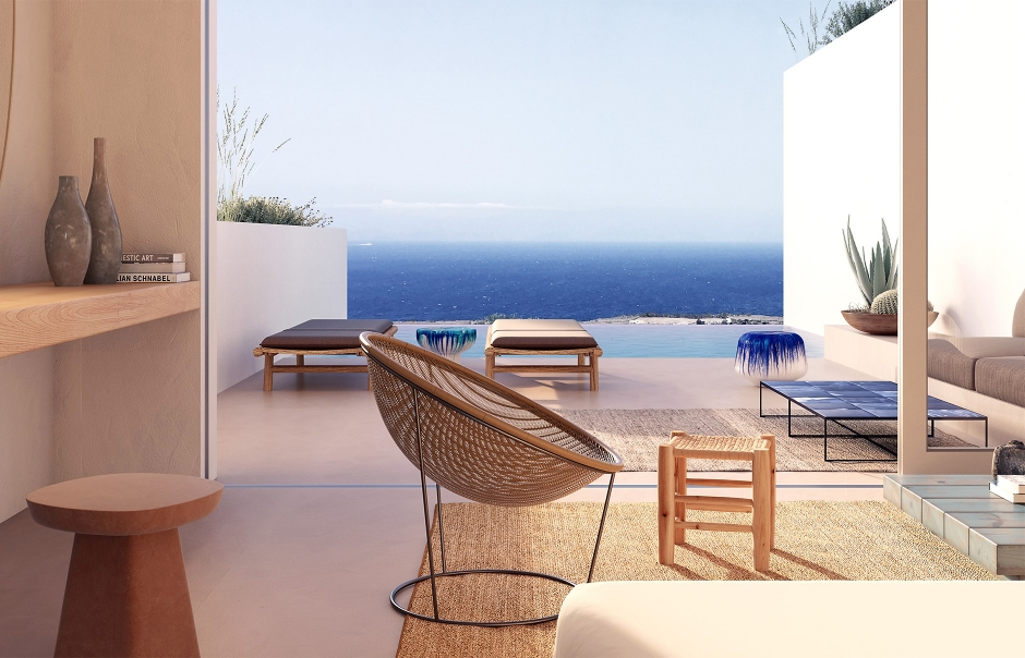Andronis Arcadia, Santorini, Greece.