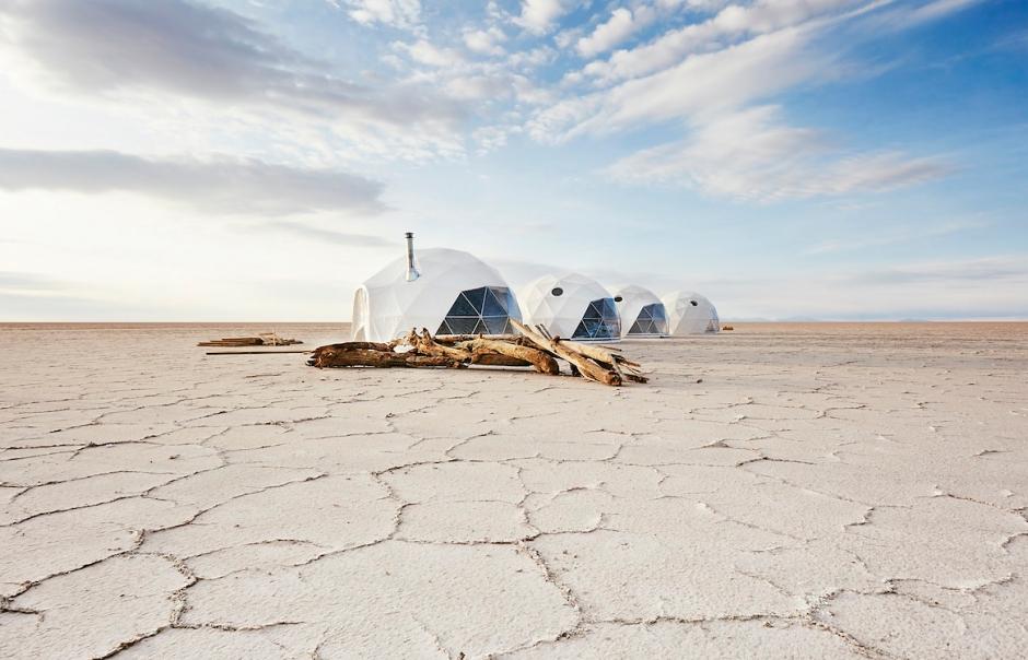 Kachi Lodge, Uyuni Salt Flats, Bolivia.