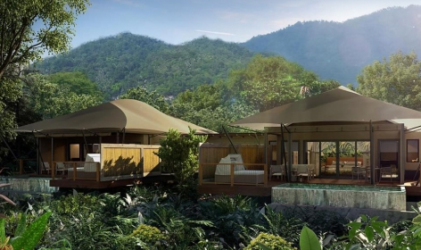 Nayara Luxury Tented Resort, Costa Rica.