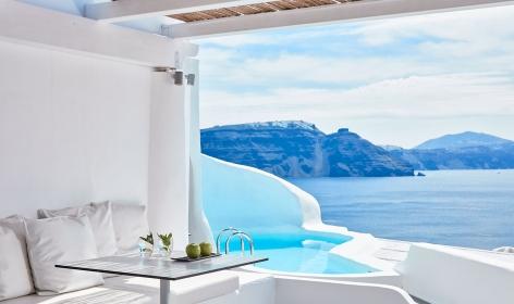 Katikies, Santorini, Greece. © Katikies