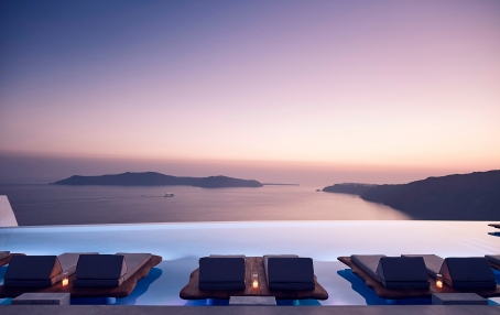 Cavo Tagoo Santorini, Greece. Luxury Hotel Review by TravelPlusStyle. Photo © CAVOTAGOO