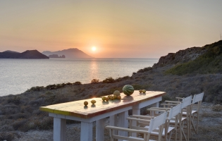 Skinopi Lodge, near Adamas. Milos, Greece. Travelplusstyle.com
