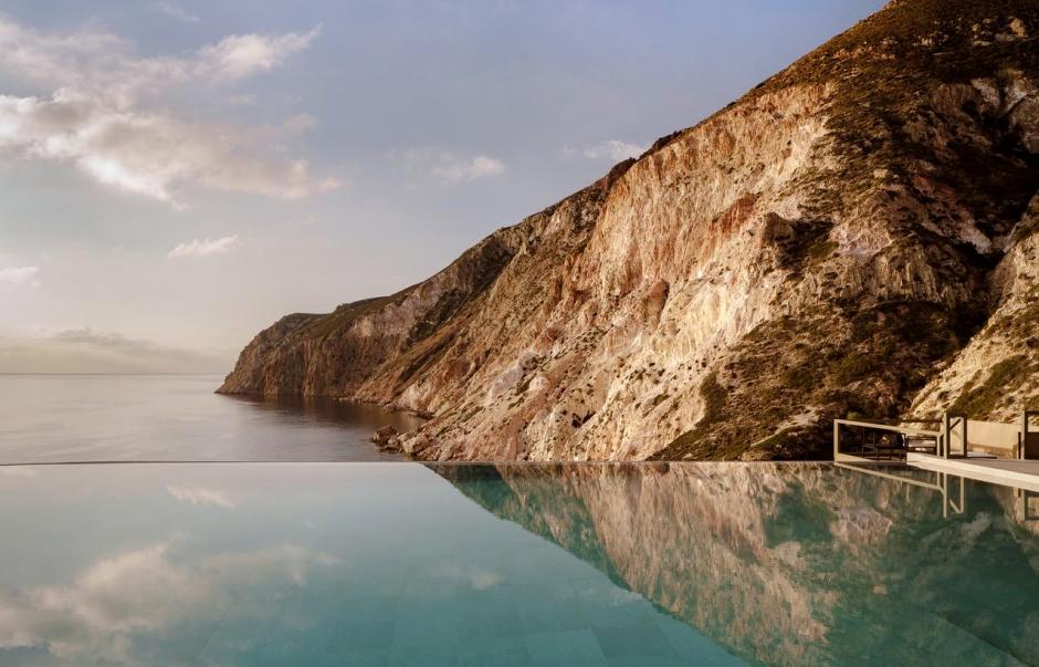 Milos Cove, Komia. Milos, Greece. Travelplusstyle.com