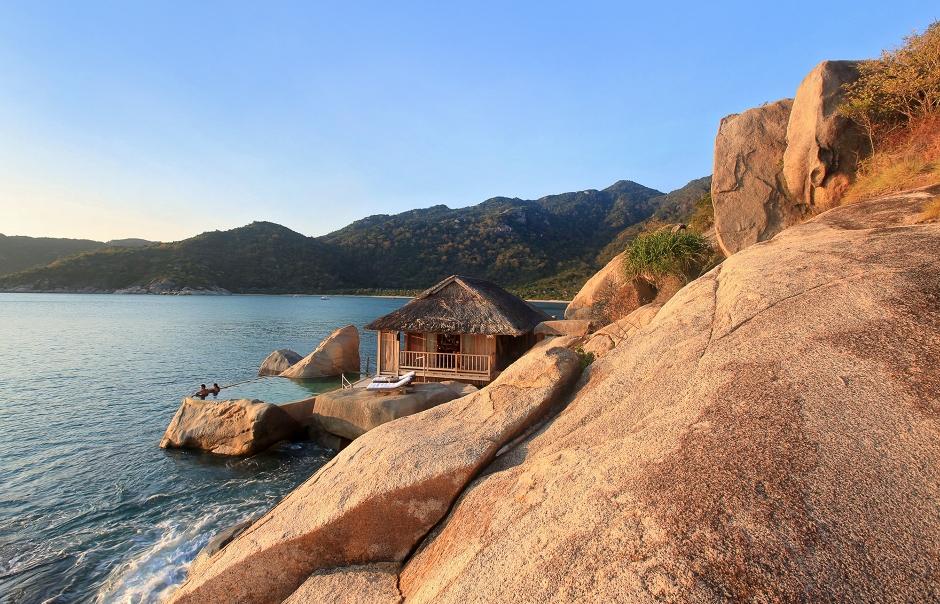 Six Senses Ninh Van, Nha Trang, Vietnam. Hotel Review by TravelPlusStyle. Photo © Six Senses Hotels Resorts Spas