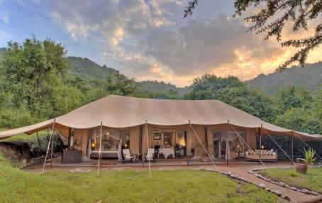 Cottars 1920s Camp Masai Mara, Kenya. Hotel Review by TravelPlusStyle. Photo © Cottar's Safaris