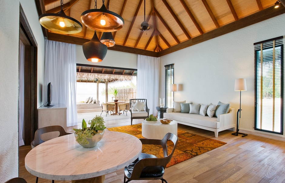 Garden Villa. COMO Maalifushi, Maldives. Hotel Review by TravelPlusStyle. Photo © COMO Hotels & Resorts
