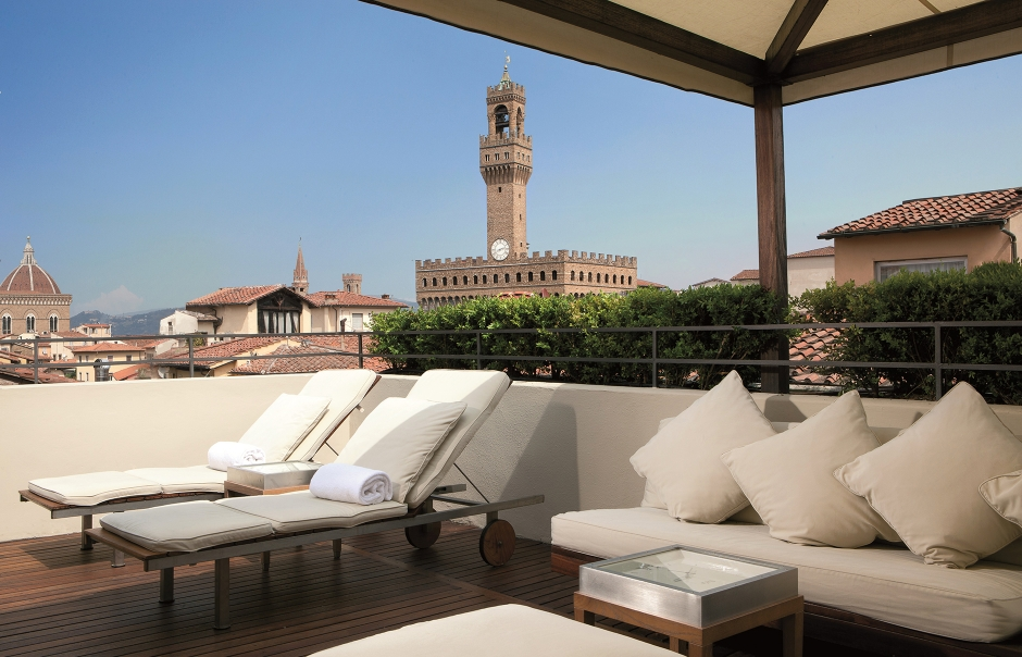 Boutique Hotel Continentale In Florence Unveils Roof Terrace