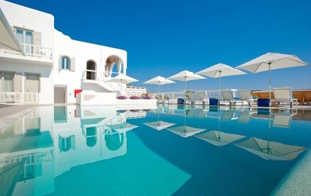 Grace Mykonos, Greece. Hotel Review by TravelPlusStyle. Photo © Grace Mykonos