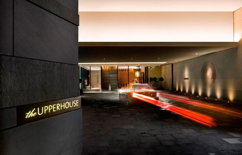 Exterior. The Upper House, Hong Kong. © Swire Hotels