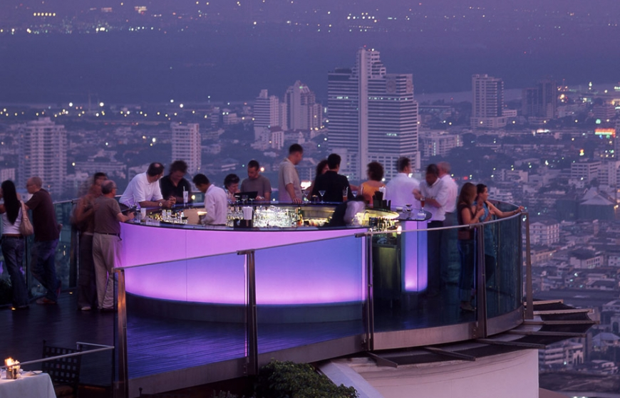 Sky Bar, Lebua at State Tower. © Lebua