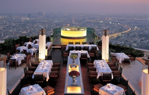 Restaurant Sirocco and Sky Bar, Lebua at State Tower. © Lebua