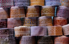 Mutrah Souk in Muscat, Oman. © Travel+Style