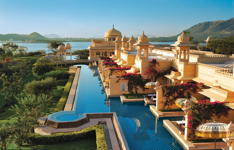 The Oberoi Udaivilas, Udaipur, India. Luxury Hotel Review by TravelPlusStyle. Photo © Oberoi Hotels & Resorts