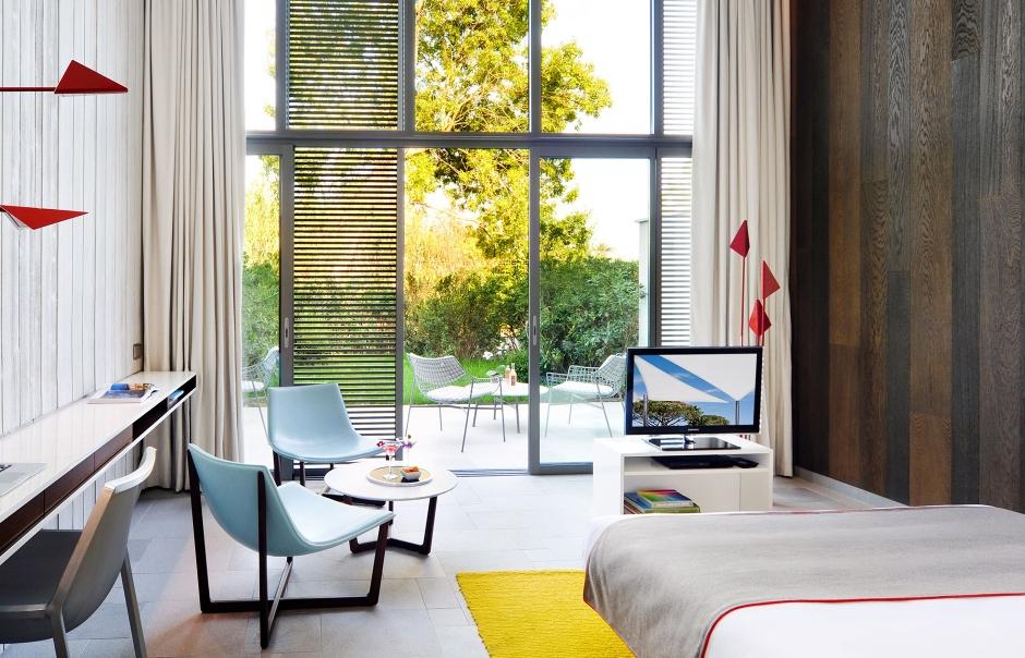Hotel Sezz Saint Tropez, France. Hotel Review. Photo © Hotel Sezz