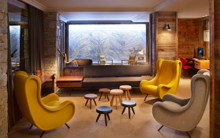 Hôtel des Trois Vallées, Courchevel, France. Hotel Review. Photo © The Hotels d'en Haut Group