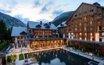 The Chedi Andermatt, Switzerland. Hotel Review. Photo © GHM