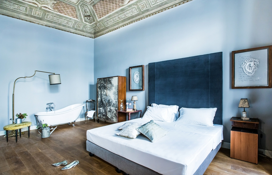 Soprarno Suites, Florence, Italy. Hotel Review by TravelPlusStyle. Photo © Soprarno Suites