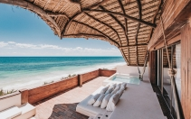 Papaya Playa Project, Tulum, Mexico. Hotel Review by TravelPlusStyle. Photo © Papaya Playa Project