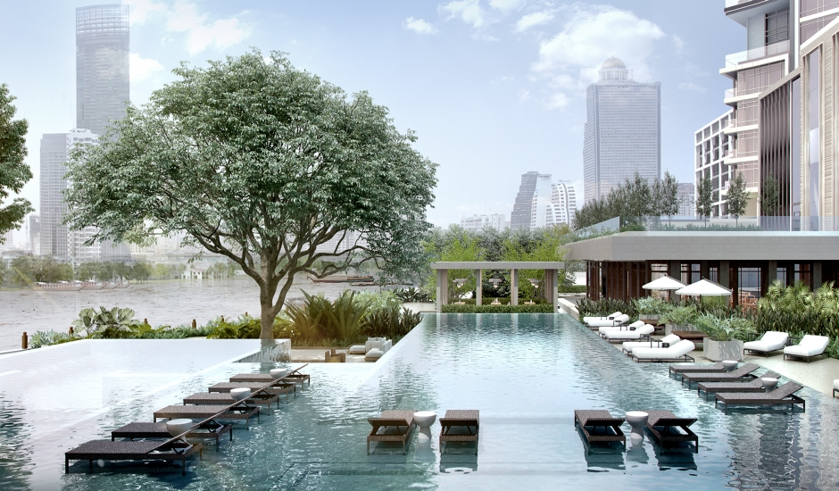 Four Seasons Hotel Bangkok at Chao Phraya River, Thailand. TravelPlusStyle.com