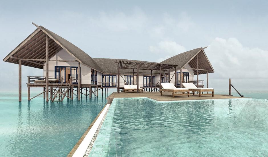 COMO Cocoa Island, Maldives. TravelPlusStyle.com