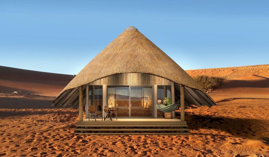 Kwessi Dunes, Namibia. TravelPlusStyle.com