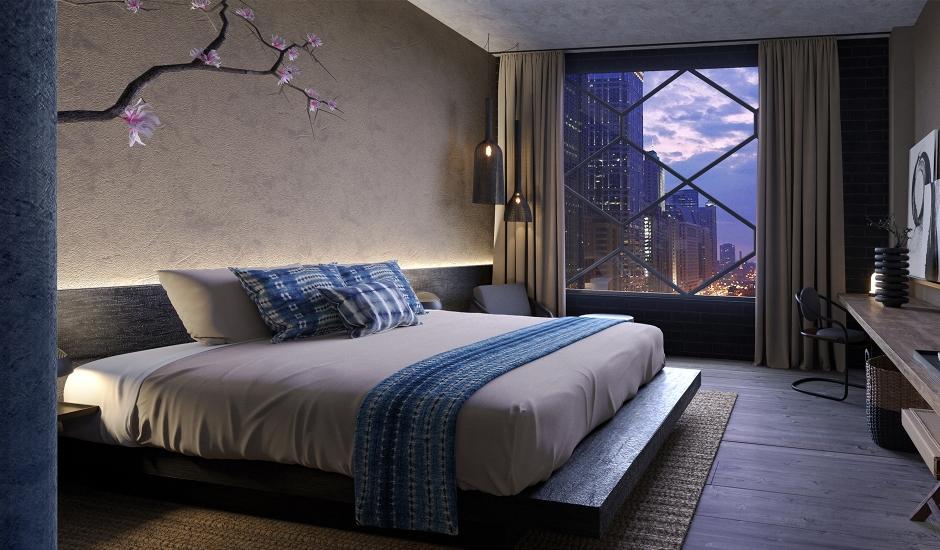 Nobu Hotel Chicago, Chicago, USA. TravelPlusStyle.com