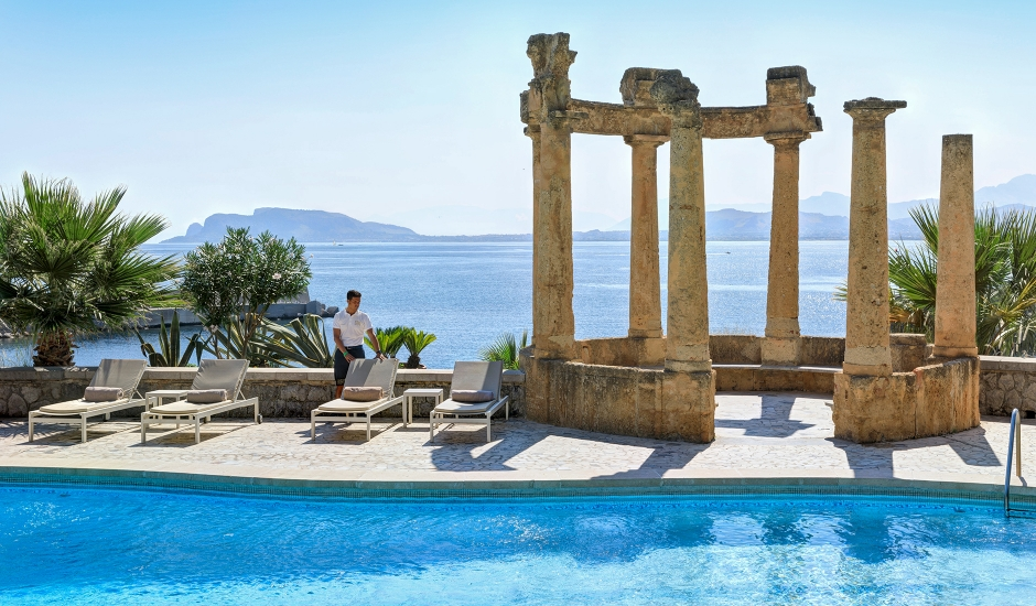 Villa Igiea, a Rocco Forte Hotel, Palermo, Italy. TravelPlusStyle.com