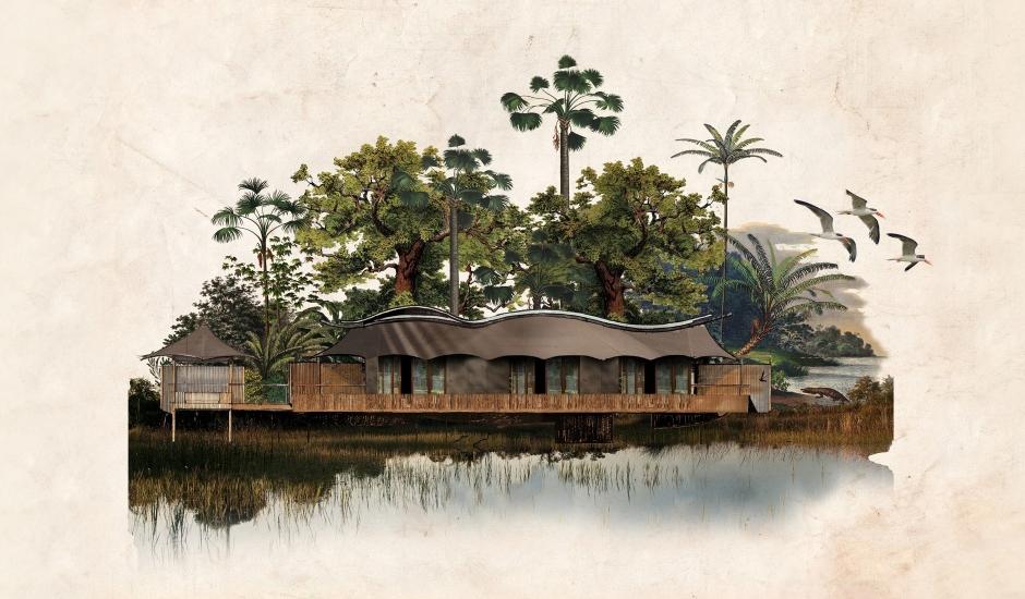 Xigera Safari Lodge, Okavango Delta, Botswana. TravelPlusStyle.com