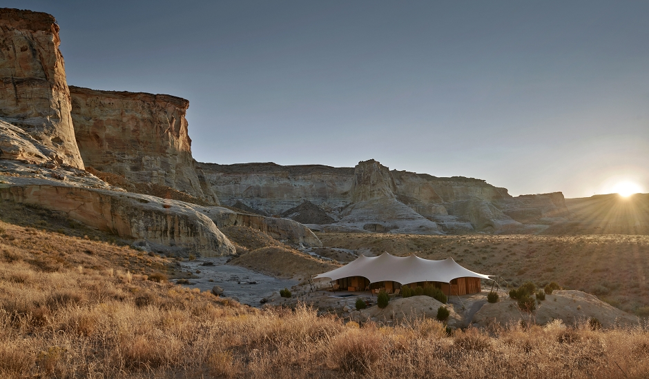 Camp Sarika by Amangiri, Utah, USA. TravelPlusStyle.com