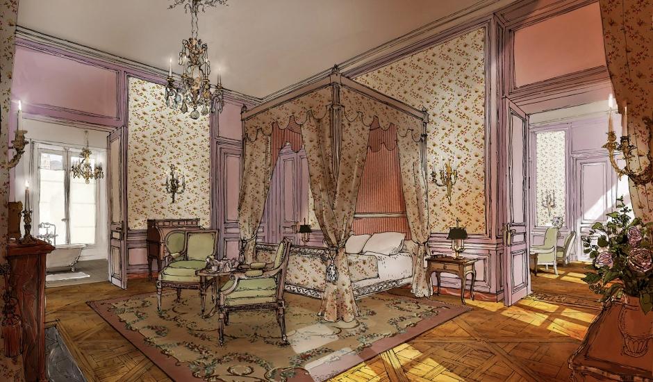 Airelles Château de Versailles, Le Grand Contrôle, France. TravelPlusStyle.com