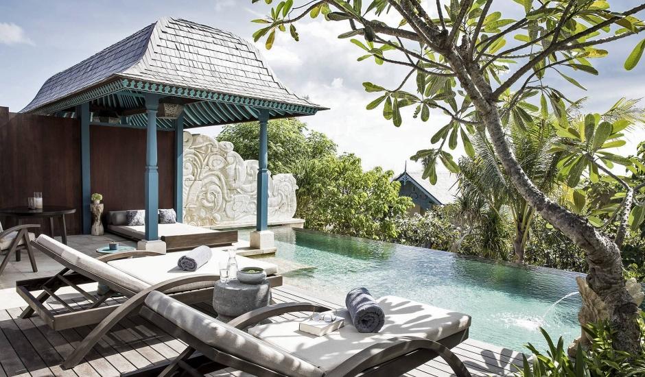 Jumeirah Bali, Uluwatu, Bali, Indonesia. TravelPlusStyle.com