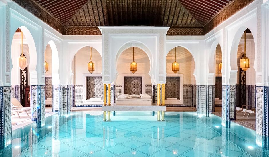La Mamounia, Marrakech, Morocco. TravelPlusStyle.com