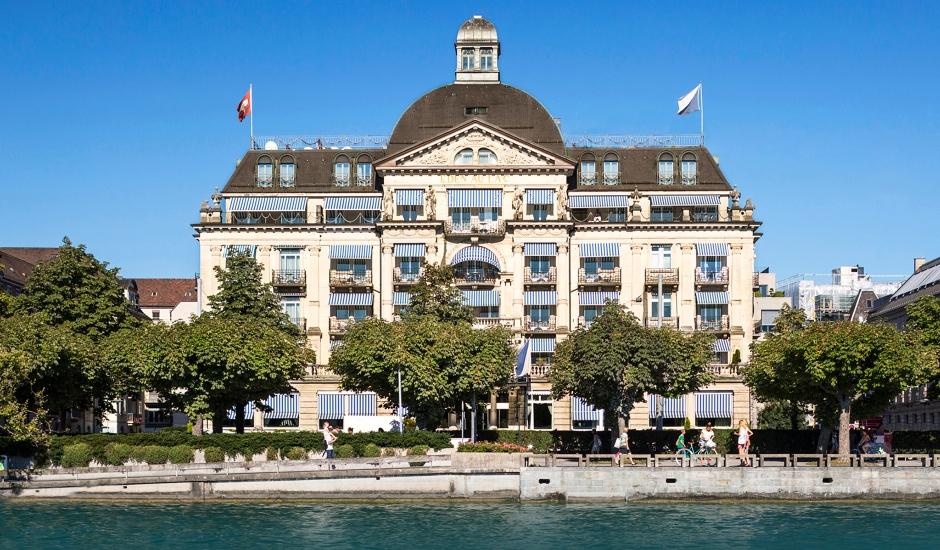 La Réserve Eden au Lac Zurich,Switzerland. TravelPlusStyle.com