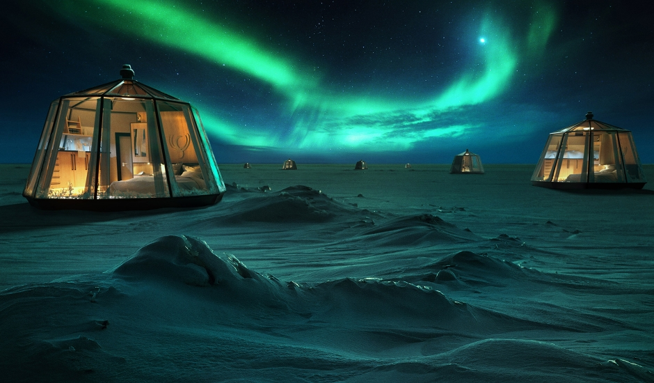 North Pole Igloos, Swedish Lapland. TravelPlusStyle.com