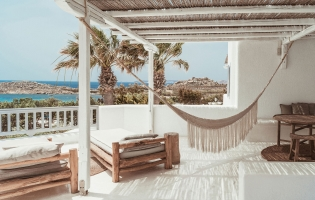 Soho Roc House, Mykonos, Greece. TravelPlusStyle.com