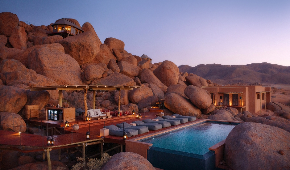 Sonop Lodge, Namibia. TravelPlusStyle.com