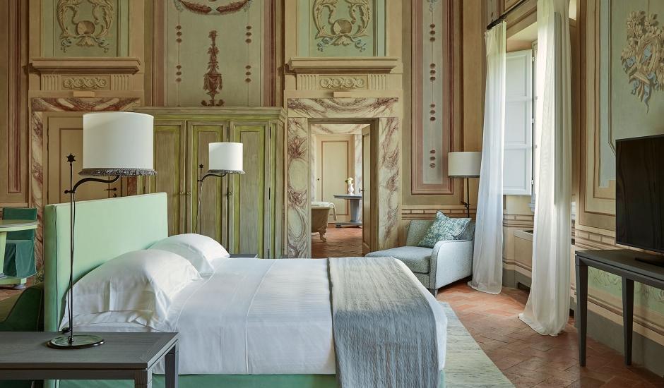 COMO Castello del Nero, Tuscany, Italy. TravelPlusStyle.com
