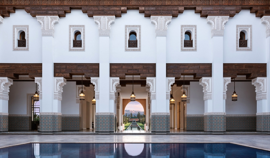 The Oberoi, Marrakech, Morocco. TravelPlusStyle.com