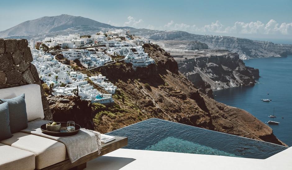 Vora, Santorini, Greece. TravelPlusStyle.com