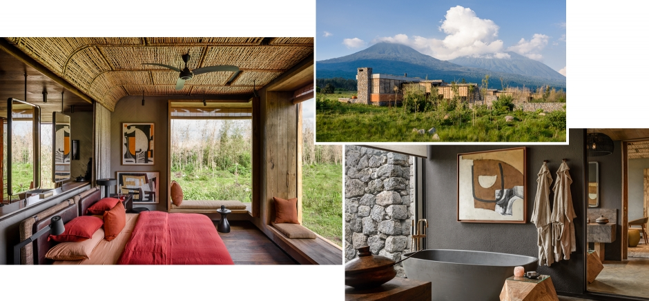 Singita Kwitonda Lodge, Rwanda. TravelPlusStyle.com