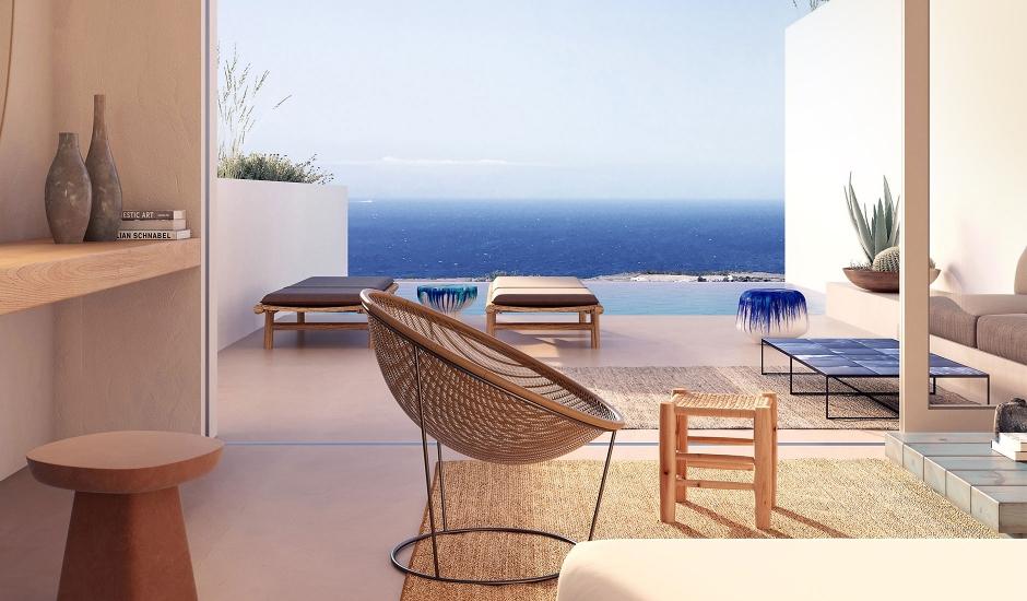 Andronis Arcadia, Santorini, Greece. TravelPlusStyle.com
