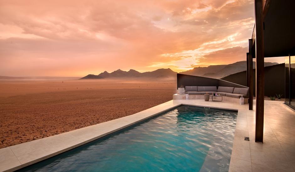 &Beyond Sossusvlei Desert Lodge, Namibia.  TravelPlusStyle.com